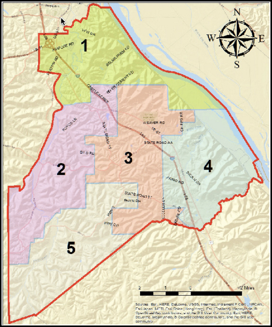 Jefferson County PSWD No. 12 Subdistricts
